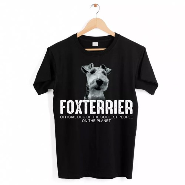 Terrier Wire Hair Fox Terrier Dog Unisex Shirt Official Dog Cool People Lusti