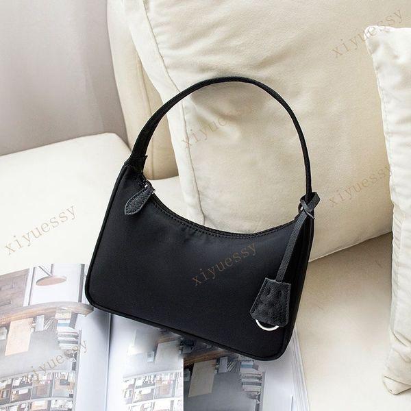 top popular Top quality Womens Handbags Shoulder Bag Baguette Nylon Ladys handbag Multiple Colors fashion bags 2021