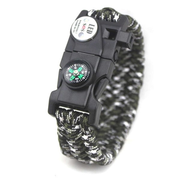 Military Green Black And White Camouflag