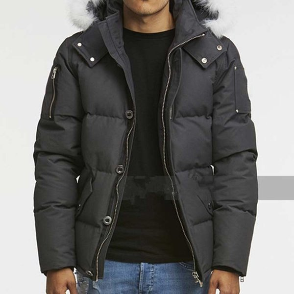 top popular 2021 In Stock Casual Mens Moose Down Jacket Outwear Outdoor Doudoune Man Winter Coat Parkas Canada Knuckles Warm Clothings 2021
