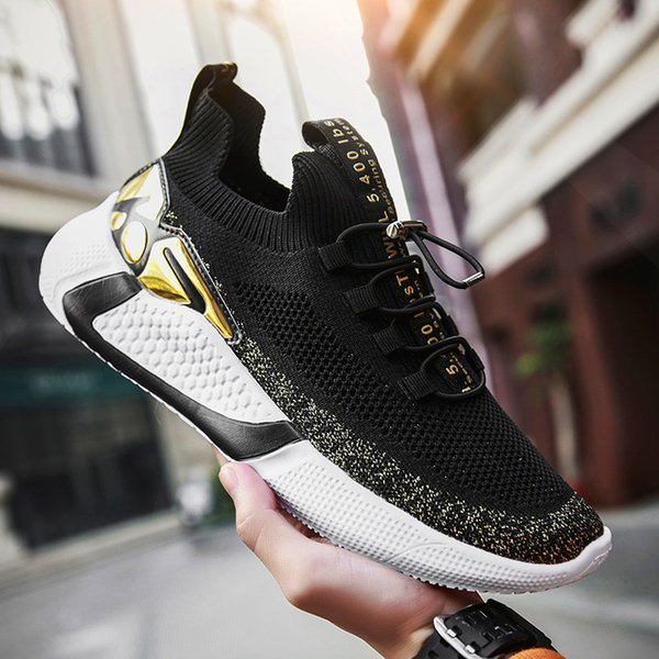 Summer Fashion Men Sneakers Casual Breathable Walking Shoes Men Tenis Masculino Leisure Fashion Shoes Lac-up Mens Casual Shoes