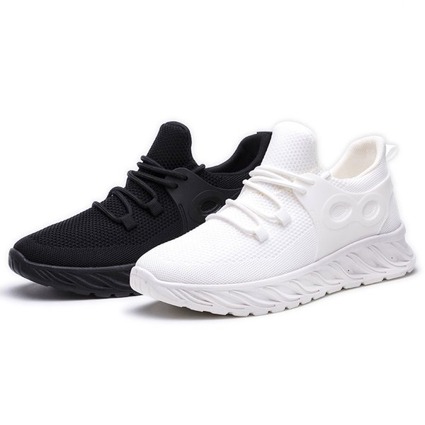 2021 new casual shoes mens sneakers non-slip fashion breathable sneakers contrast color wear-resistant sneaker Lace-up