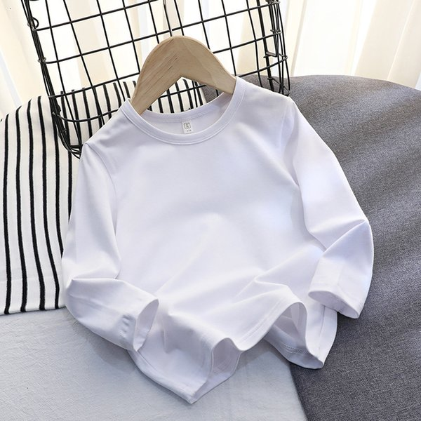 Lycra Cotton Long Sleeve (white)