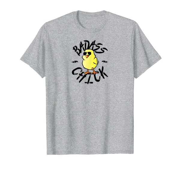 Funny Badass Chick Shirt for women; Ladies Chick T-shirt