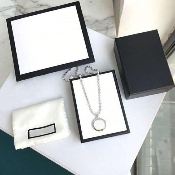 best selling Fashion Necklace Bracelet Street Unisex Circle Pendant Necklaces for Man Woman Jewelry pendants Bracelets