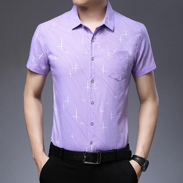 1202 Purple manche courte