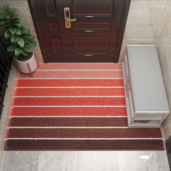 Eovna PVC Door Mats Waterproof Ant-Slip Bathroom Carpet Rugs Hallway Entrance Doormat Kitchen Mats for Floor