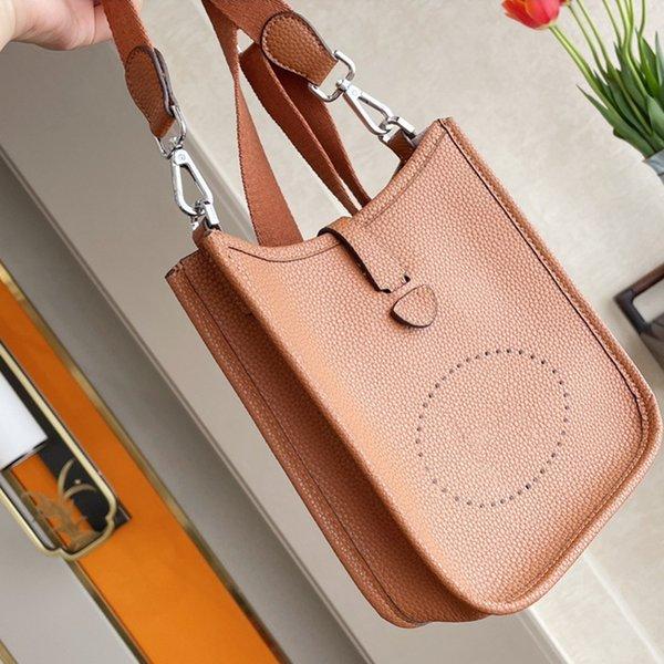 best selling Luxurys Designers Bags 2021 evelyne Genuine leather Pure cowhide Clutch backpack Shoulder girl crossbody purses women wallet gift box packaging