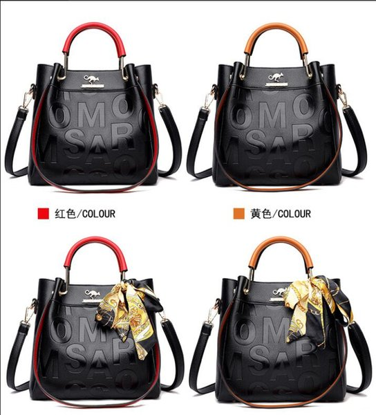 Luxury Handbags Women Bags Designer Fashion Large Capacity Tote Bag Ladies PU Leather Letter Shoulder Bags Black Shopper Handbag