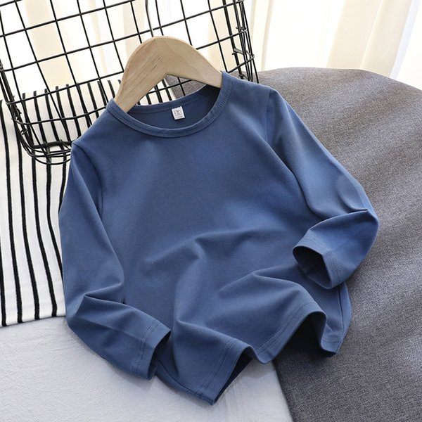 Lycra Cotton Long Sleeve (denim Blue)