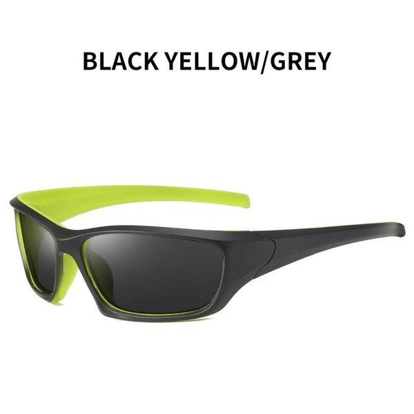 Amarelo preto - cinza