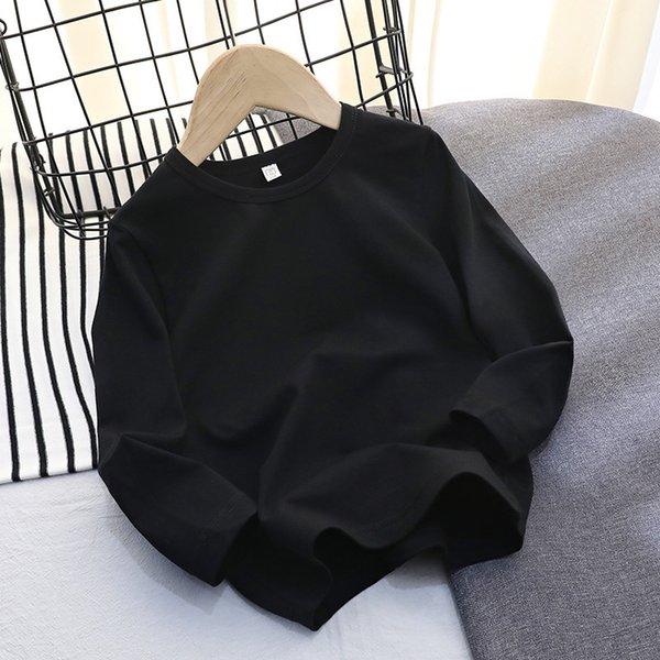 Lycra Cotton Long Sleeve (black)