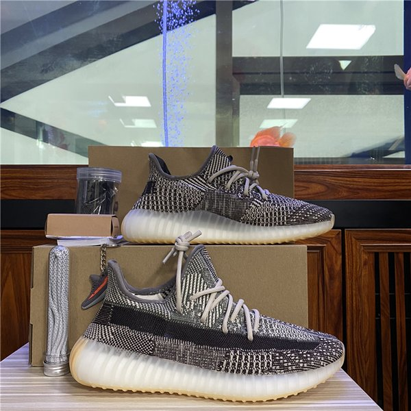 best selling Ash Blue Running Shoes Men Women Tail light Static reflective Oreo Desert Sage Earth Linen Stati Asriel Zebra Trainers Sneakers 36-48 Half Size invogoe