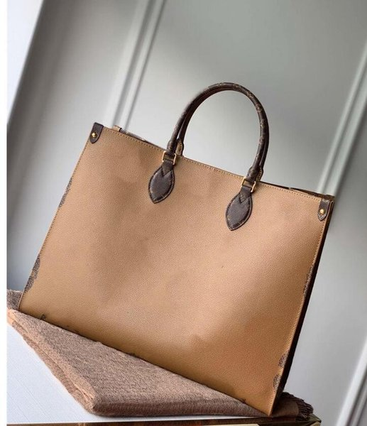 2021 BACKPACK FASHION ONTHEGO M44925 M44926 WOMEN luxurys designers bags leather Handbag messenger crossbody bag shoulder bags Totes Wallet