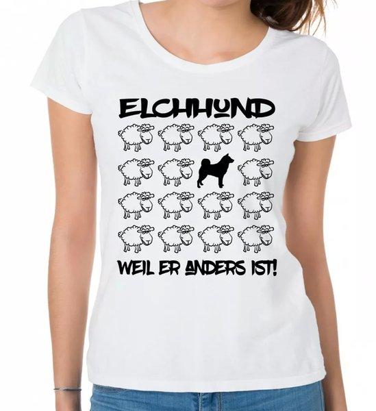 Moose Dog Ladies T-Shirt Black Sheep by siviwonder Women Dog Dogs Fashion