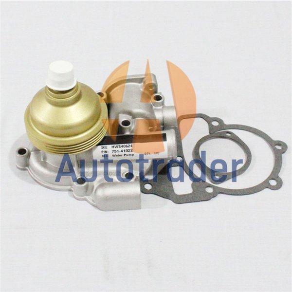 best selling New Water Pump 751-41022 75141022 For Lister Petter Alpha LPW LPWS LPWT