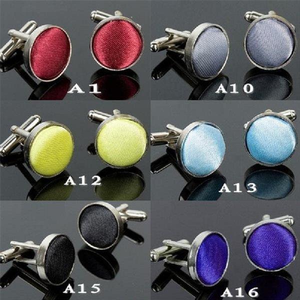 top popular men's cuff-link Male fashion cufflinks sleeve button cuff link cuff button alloy round arbitraging 10pair lot 2021