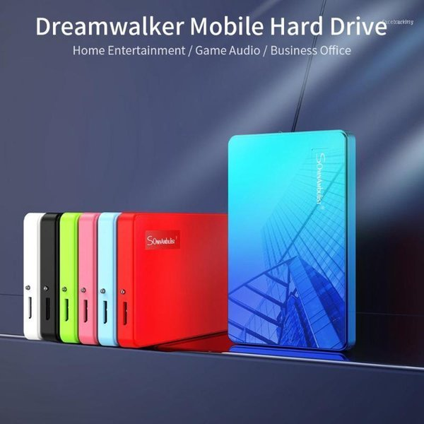 top popular External Hard Drives Color HDD 2.5 1TB Drive 2TB Storage Device For Computer Portable HD 1 TB USB 3.011 2021