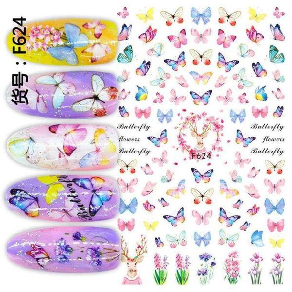 Serie de mariposa F-624