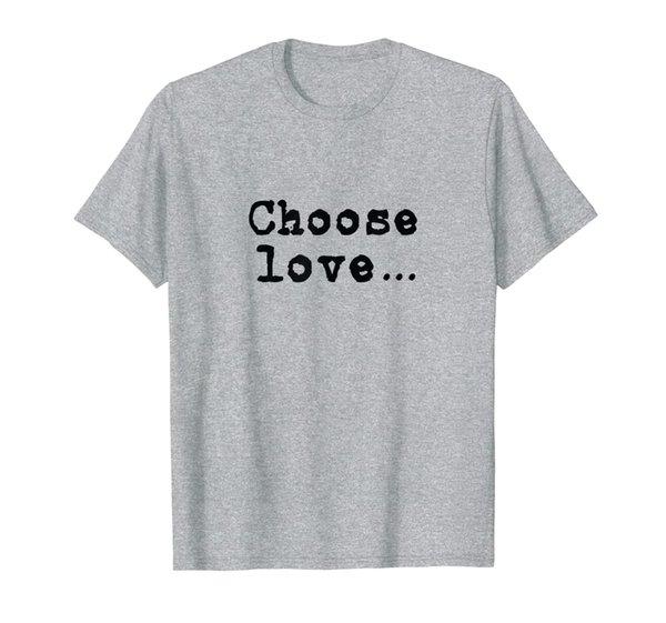 Choose Love T Shirt Inspirational Anti Bullying Kids Youth