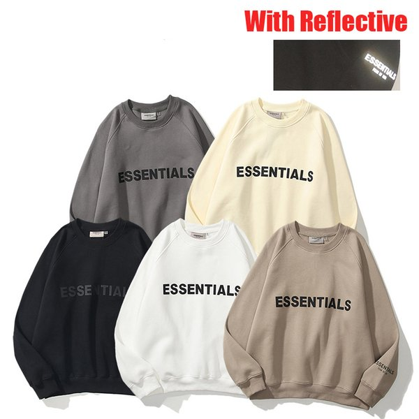 top popular 21SS Hight Quality FOG Designer Jacket Men Women Spring Autumn Sweatshirts Outerwear Hoodies Top Jogger Fear Of God Essentials Pullover Clothes Hoodie Tracksuit 2021