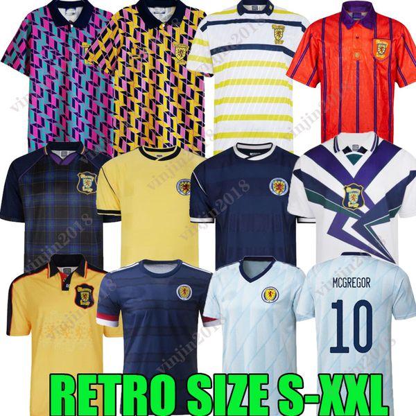 top popular 1978 World Cup FINAL Scotland Retro Soccer Jersey 2021 1982 1986 1991 1993 1998 1988 1989 91 93 95 96 98 maillots classic Vintage Leisure HENDRY LAMBERT Football Shirt 2021