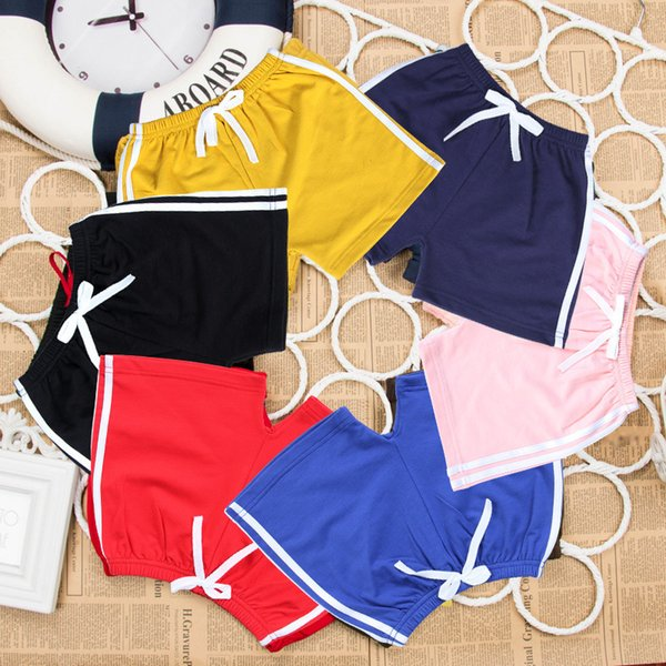 top popular Summer Cotton Hot Pants, Baby's Shorts, Men's Women's Capris, All Middle and Small Children's Wear, Thin Beach Pants 2021