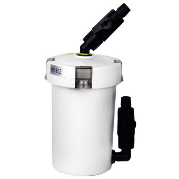 best selling 6W 400L h External Canister Filter Durable Outer Aquarium Table Top Mini Water Purifying Fish Tank Home Pump Filtration System Y200917