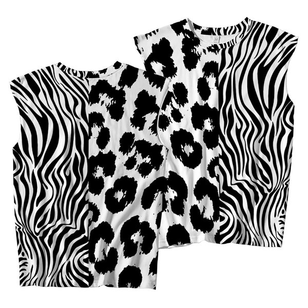 Mens Leopard Sleeveless Shirts Summer Fitness Clothing Male Gym Tanks Tops Plus Size Summer Print Shirts Vest Apparel Ethnic Clothing DIY Clothing Mens Clothing Womens Clothing Ethnic Clothing Womens Sleepwear Mens Sleepwear