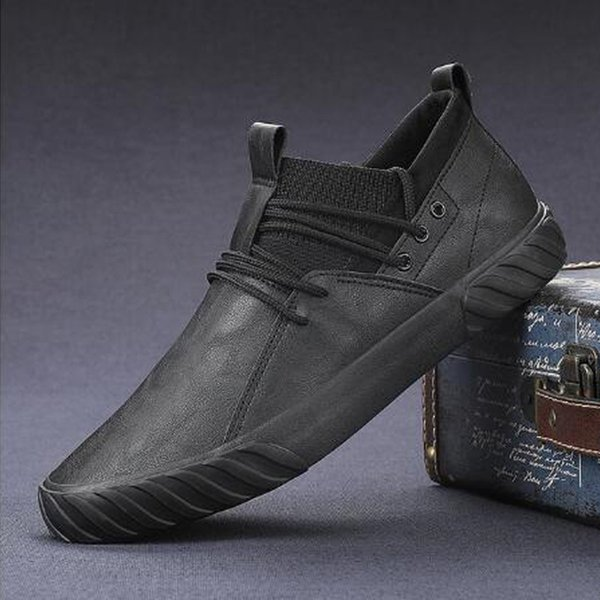 Informal fashion and comfortable appearance, high-quality casual for men and women leather shoes