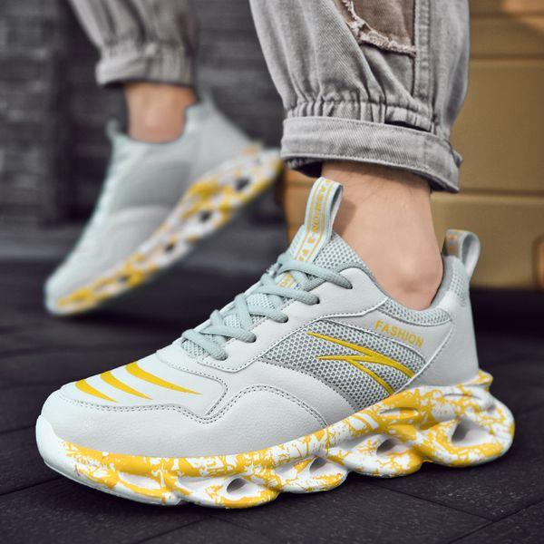 Fashion Men Sneakers Mesh Casual Shoes Lac-up Mens Shoes Lightweight Vulcanize Shoes Walking Sneakers Fashion For Men