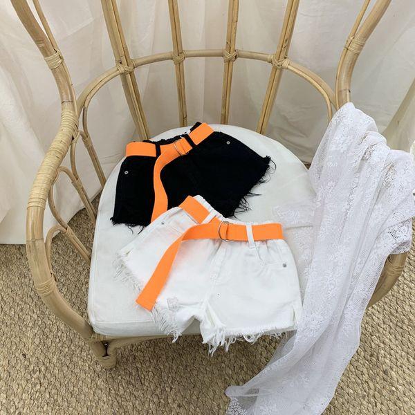 best selling South Korea Clothing 2021 Summer New Girls' Jeans Shorts Boys' Beach Children's Ultra Short Pants Fashion