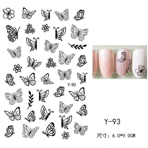 Serie de mariposa Y-93