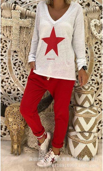Pentagrama rojo