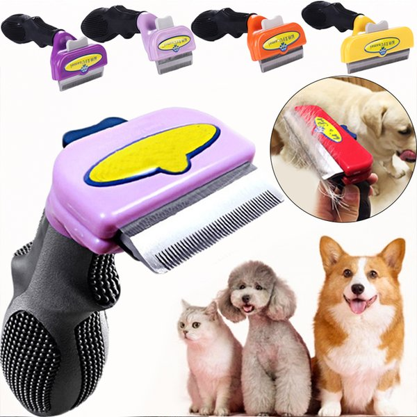 Pet Hair Shedding Comb Pet Dog Cat Brush Grooming Tool Furmins Hair Removal Comb for Dogs Cats Pet Supplies Accessories