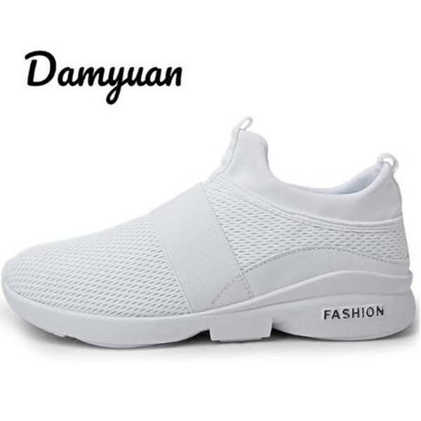 2020 Sale Damyuan Men's and Women's Flat Sneakers New Fashion Casual Lightweight Comfortable Soft Sole Couple Sports Shoes