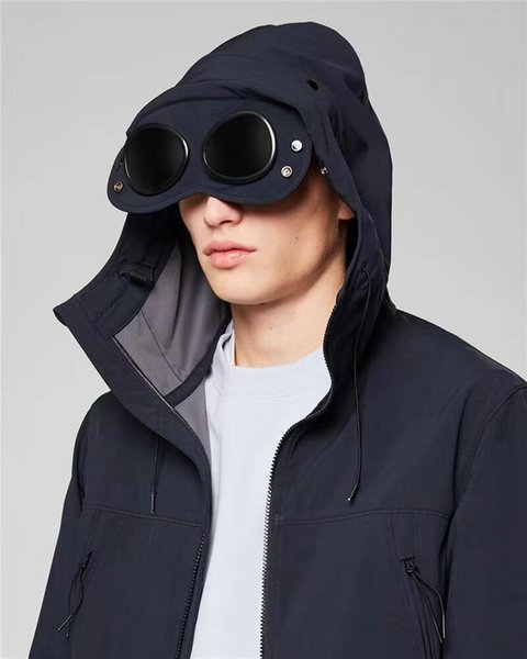 best selling GOGGLE men jacket casual CP hoodies outdoor windbreak warm winter tracksuit high quality size M-XXL