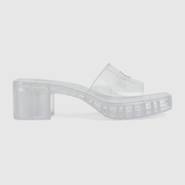 top popular The latest women's slippers sandals super fashion transparent jelly shoes luxury custom logo comfortable and beautiful 35-41 2021