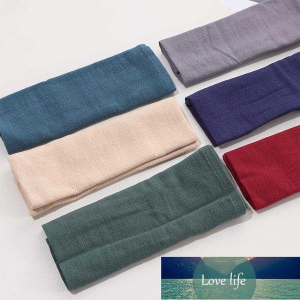 top popular Plain Cotton And Linen Table Napkins Kitchen Tea Towel Absorbent Cleaning Towels Handkerchief Placemat Table Decoration Mats 2021