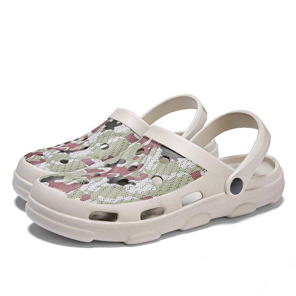 Hole Shoes Men Summer New Sandals Literide Crocks Slides Clogs Man Sandalias zapatos de hombre Aqua Shoes Sandals Men Slippers