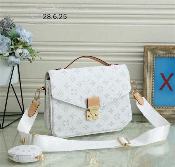 top popular 2021 Women designer handbag messenger bag oxidizing leather POCHETTE metis elegant shoulder bags crossbody bags shopping purse perfect 2021