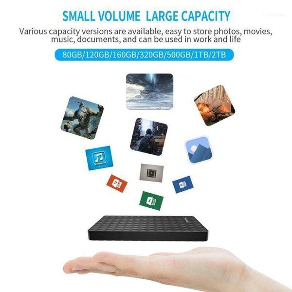 top popular External Hard Drives Disk Drive 1Tb Usb 3.0 2TB 500G High Disco Externo HDD Original Storage Device11 2021
