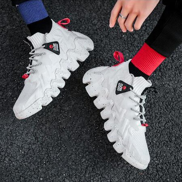Men's casual Korean style spring and summer new hot-selling cross-border ultralight sports shoes men's sports shoes