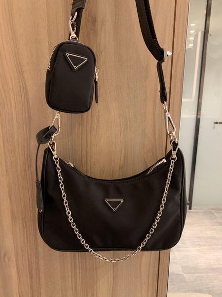 best selling Four Seasons Fashionable Personality Canvas Hip-Hop Ladies Shoulder Bag Ladies Handbag Nylon Waterproof And Wear Resistant Wallet Messenger Bag #14