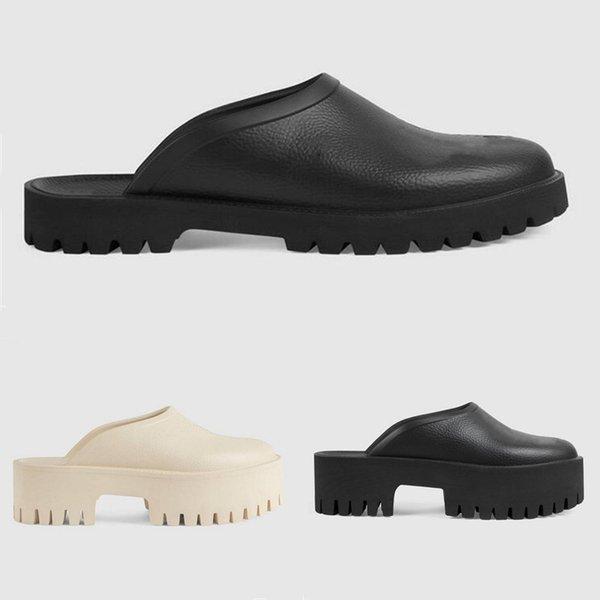 best selling 2021 Luxury Womens Sandals Mens Slippers Slide Designer Candy Color Flat High Heels Rubber Slipper Jelly Shoes Flip Flops Slides Outdoor Beach Shoe Heatshoes 35-44