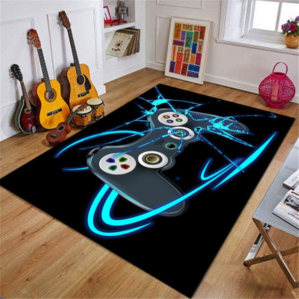Game Rug Non-Slip Carpet for Living Room Carpet Study Mat Absorbent Washable Rugs and Carpets for Home Living Room