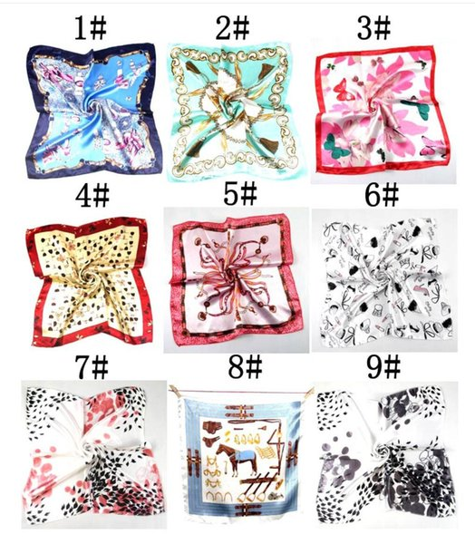 top popular summer autumn and winter scarves, female imitation , versatile, professional small square, manufacturers wholesale, Hangzhou silk, scarf 2021