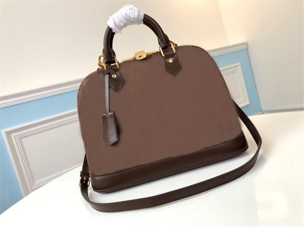 top popular 2021 Luxurys Designers Mini Shell Bags handbags CrossBody Bag Fashion Women Leather High Quality 2021