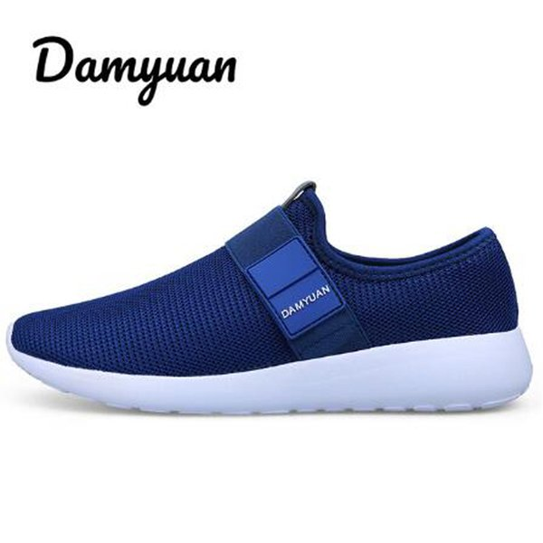 Men's and women's new fashion casual lightweight flat-soled comfortable soft-soled couple sports shoes