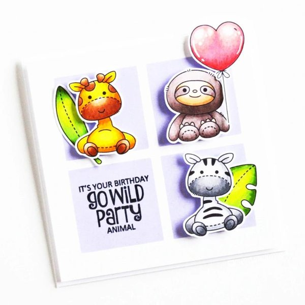 top popular Lion Cat Hippo Metal Cutting Dies And Clear Stamps Transparent Silicone Seal For DIY Scrapbooking Po Decorative Painting Supplies 2021